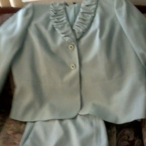 2 piece suit worn once